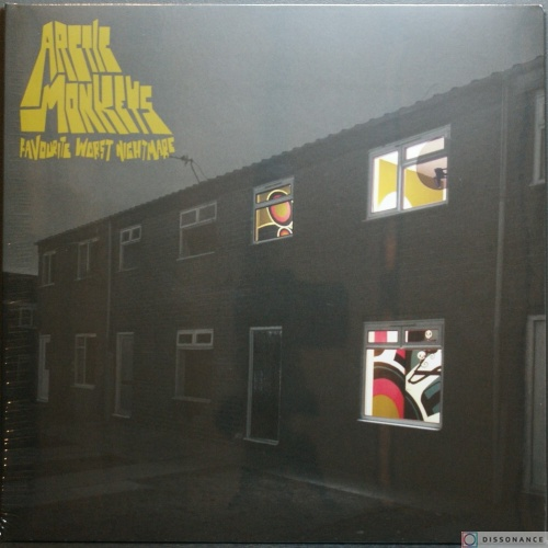 Виниловая пластинка Arctic Monkeys - Favourite Worst Nightmare (2007)