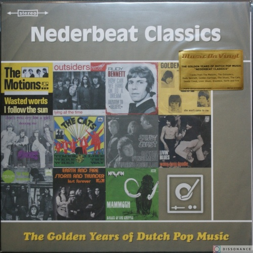 Виниловая пластинка V/A - Golden Years Of Dutch Pop Music Nederbeat Classics (2017)