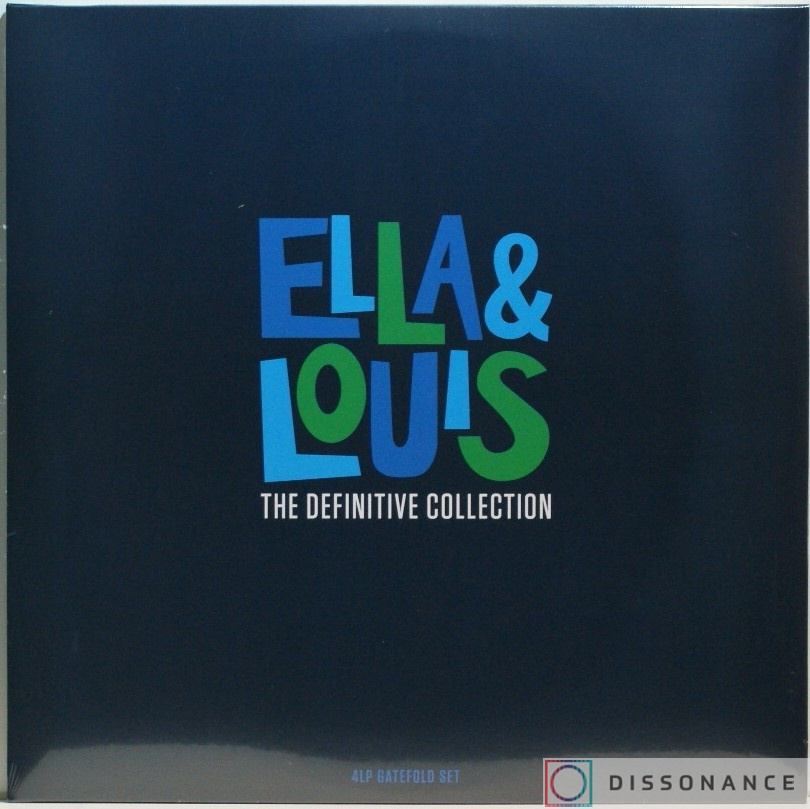 Виниловая пластинка Ella Fitzgerald And Louis Armstrong - Ella And Louis Definitive Collection (2018) - фото обложки