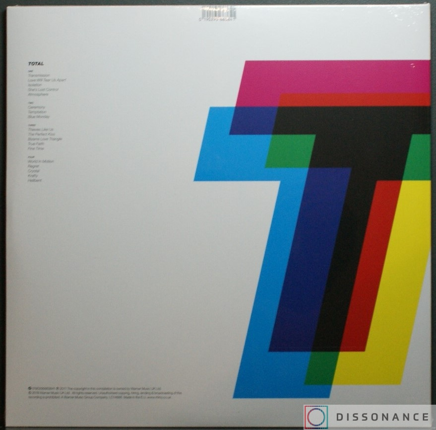 Виниловая пластинка Joy Division - Total From Joy Division To New Order (2011) - фото 1