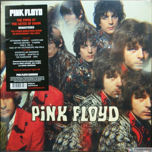 Виниловая пластинка Pink Floyd - Piper At The Gates Of Dawn (1967)