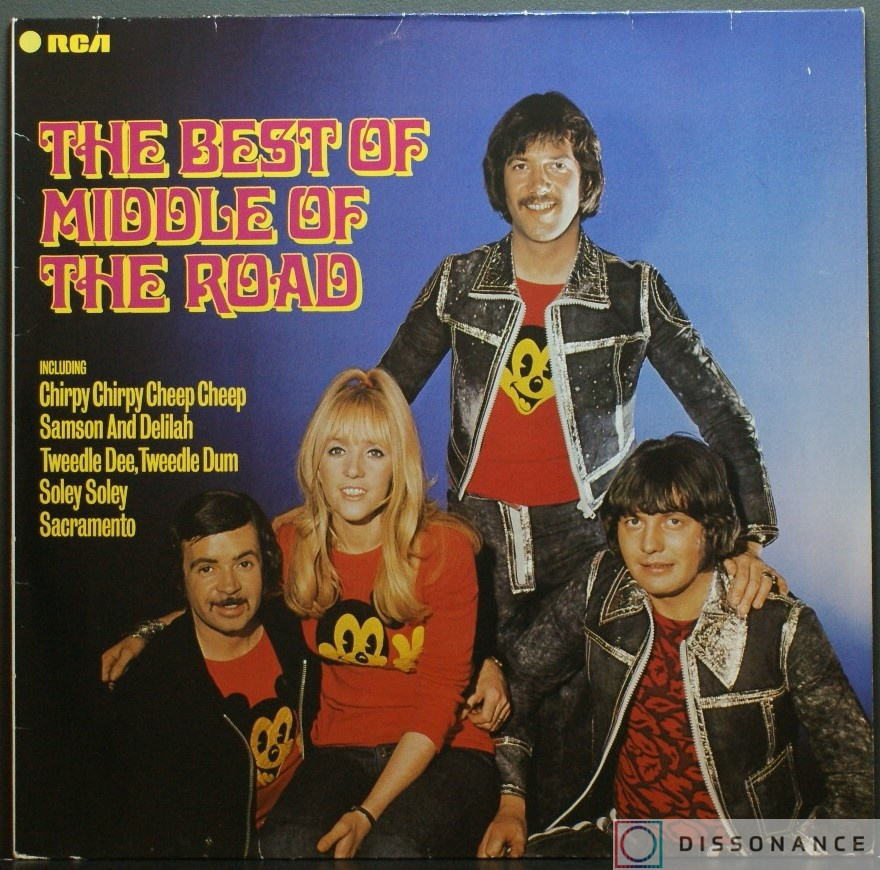 Виниловая пластинка Middle Of The Road - Best Of Middle Of The Road (1973) - фото обложки