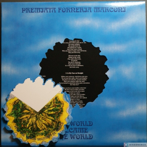 Виниловая пластинка Premiata Forneria Marconi - The World Became The World (1974)